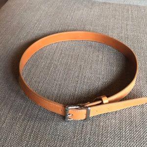 Shinola tan Belt size 34